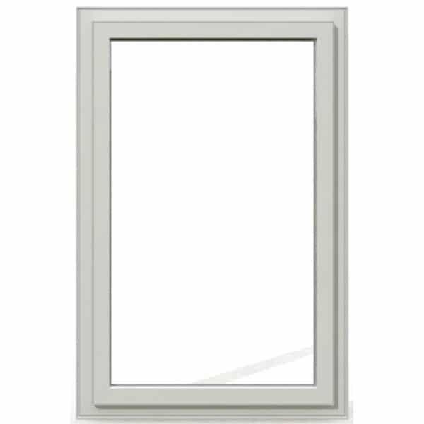 Fixe PVC blanc exterieur 95x60