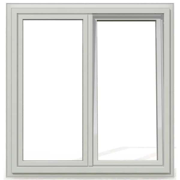 OB2 PVC blanc exterieur 125x120