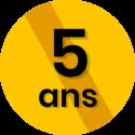 pictos garanties 5 ans