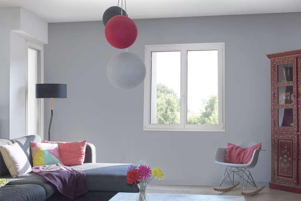 Fenêtre pvc vantaux blanc