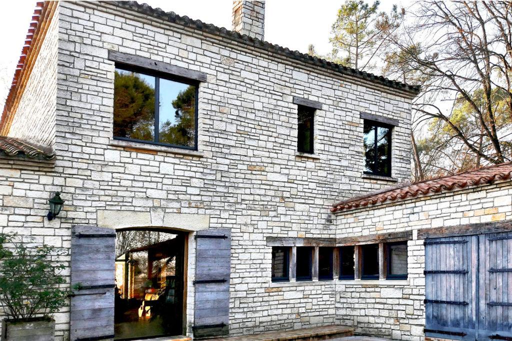 Fenêtres fixes et frappes aluminium extérieur