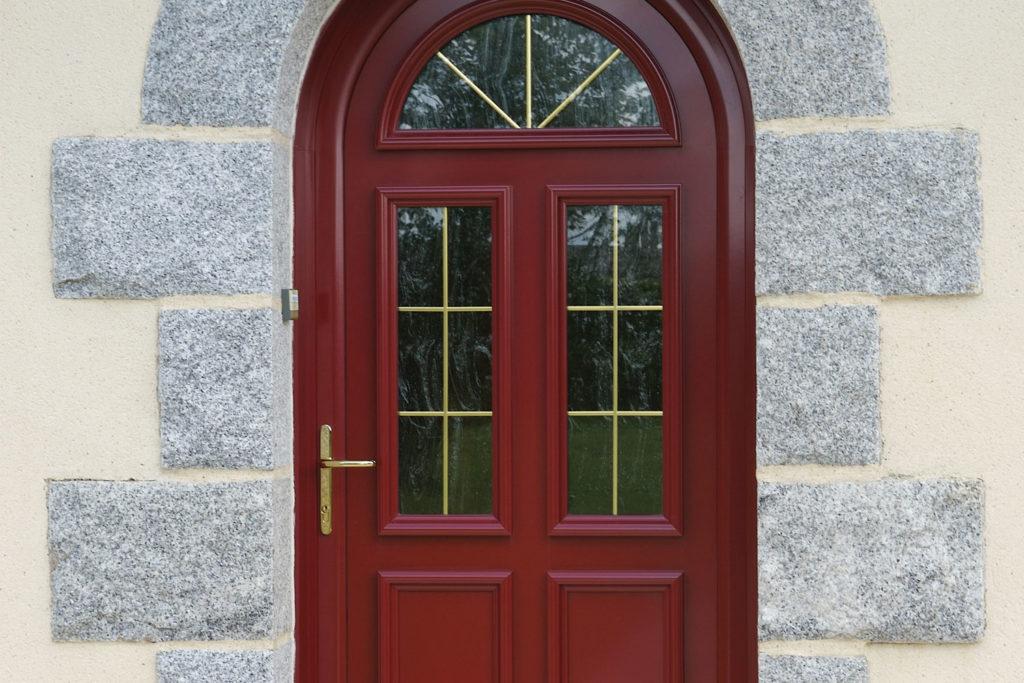 Devis porte d 39 entr e mixte alu bois renov 39 art - Porte d entree cintree ...
