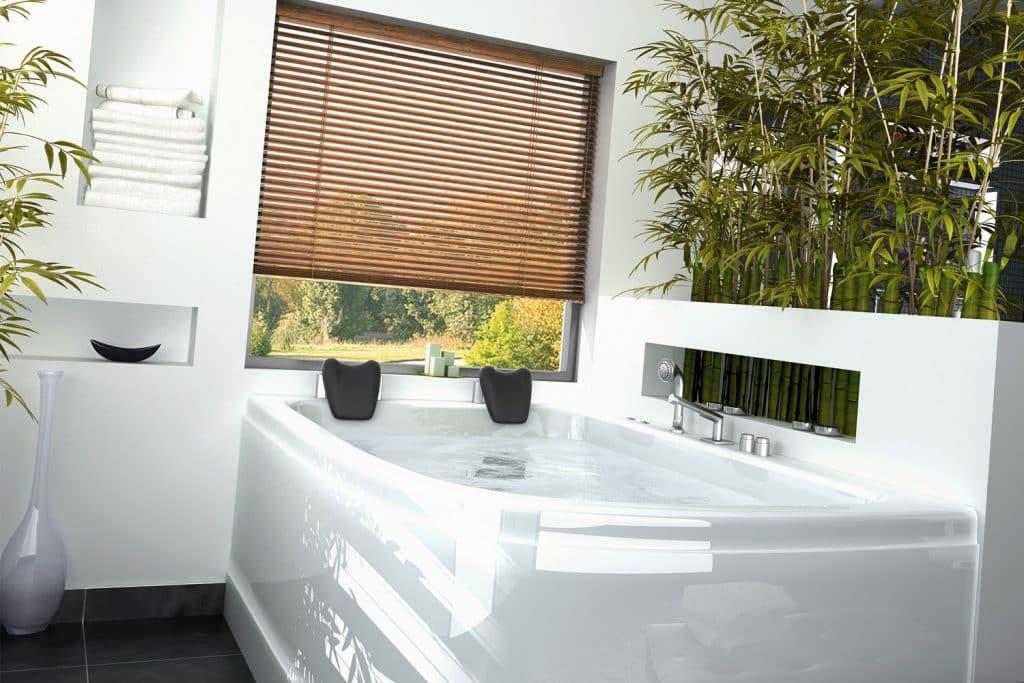 Store vénitien intérieur salle d'eau